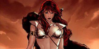 Red Sonja em ilustração