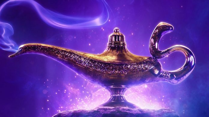 cartaz de Aladdin