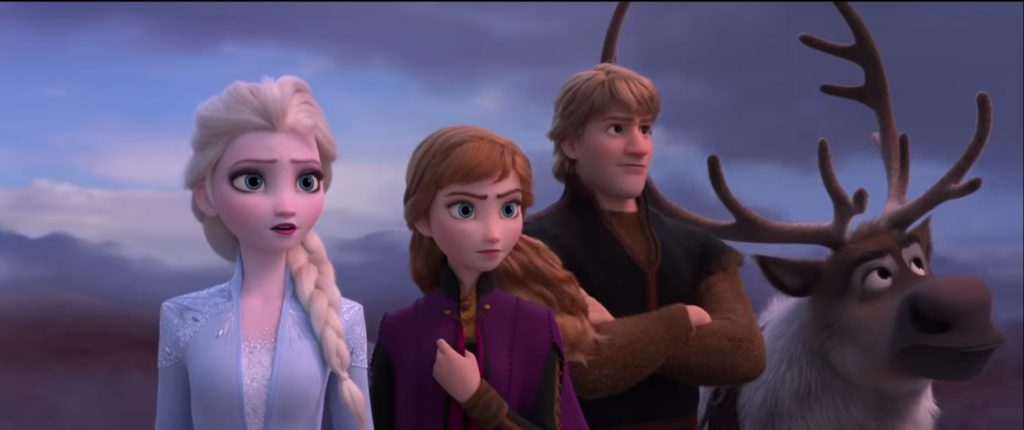 frozen 2 cena do trailer