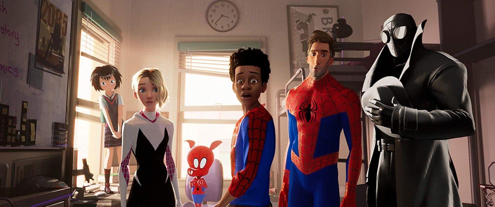 Homem-Aranha no Aranhaverso sony pictures