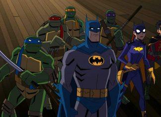 Batman vs Tartarugas Ninja animaççao DC