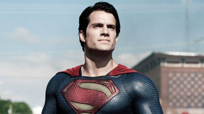 Henry Cavill em Homem de Aço, longa do superman