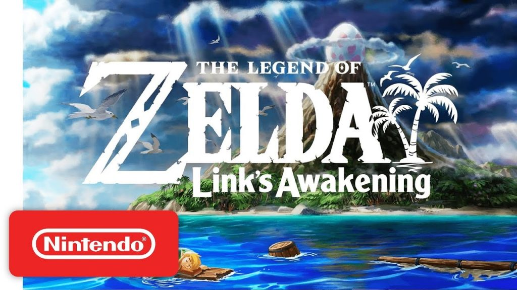 The Legend of Zelda: Link's Awakening capa do jogo