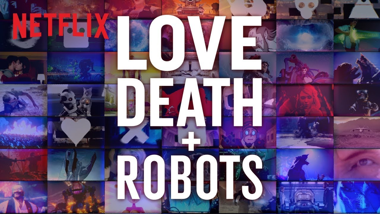 cartaz de love, death & robots da netflix