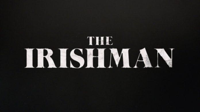 cartaz do novo filme de martin scorsese, O Irlandês