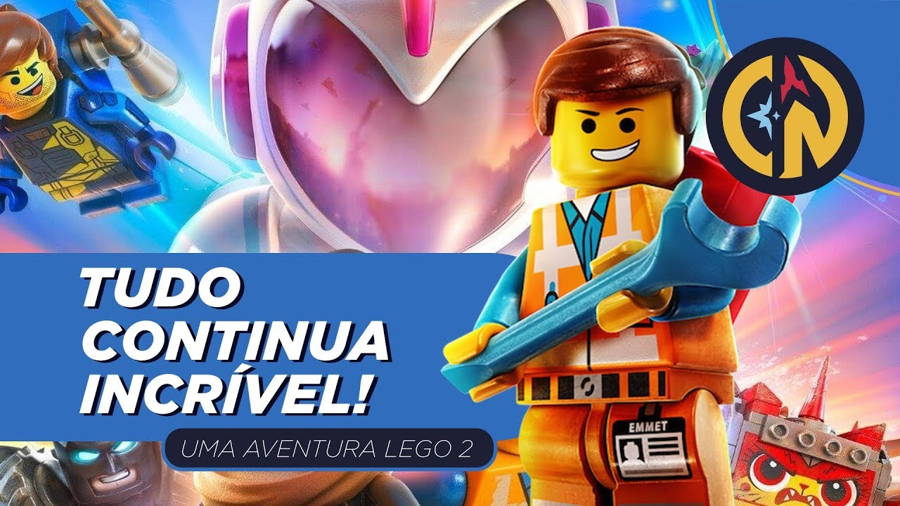 CRÍTICA | Uma Aventura Lego 2 é ainda mais INCRÍVEL