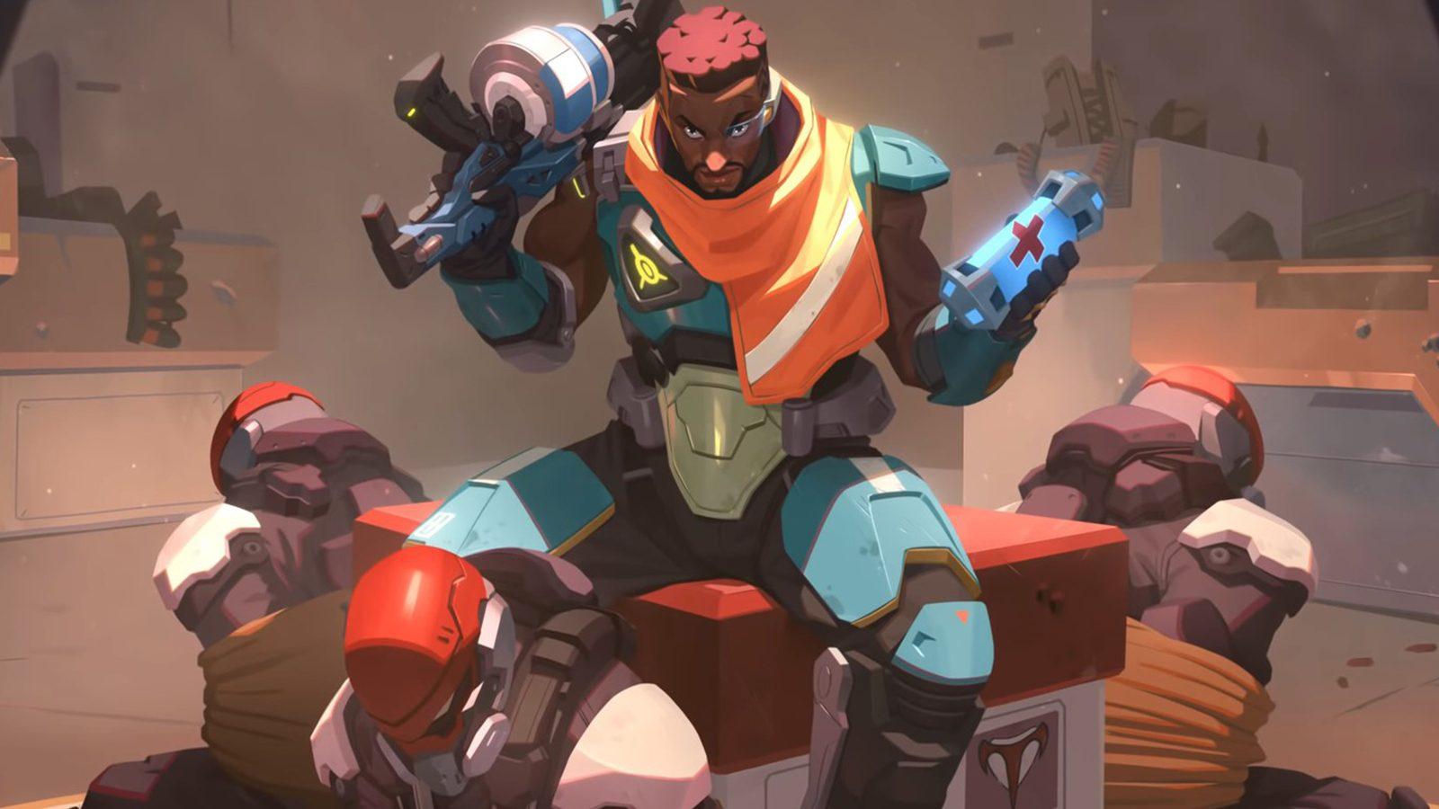 personagem inédito de Overwatch