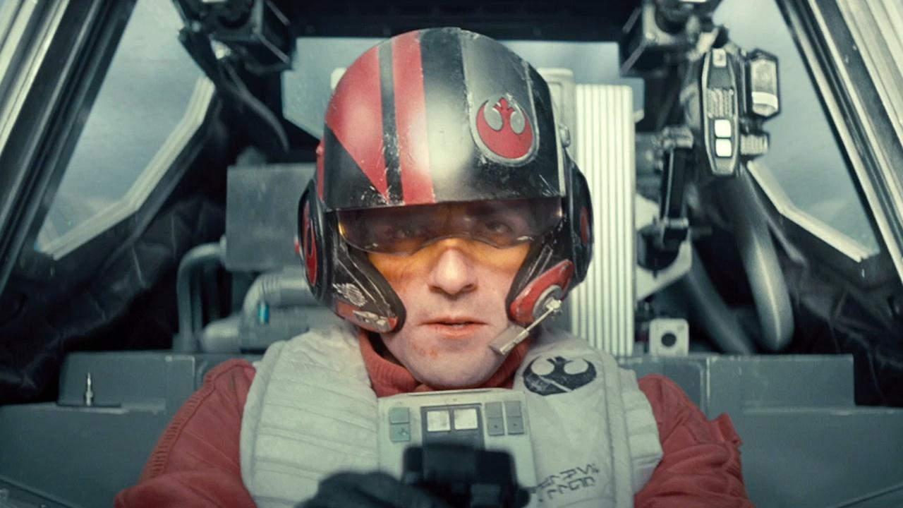 poe em Star Wars o despertar da força