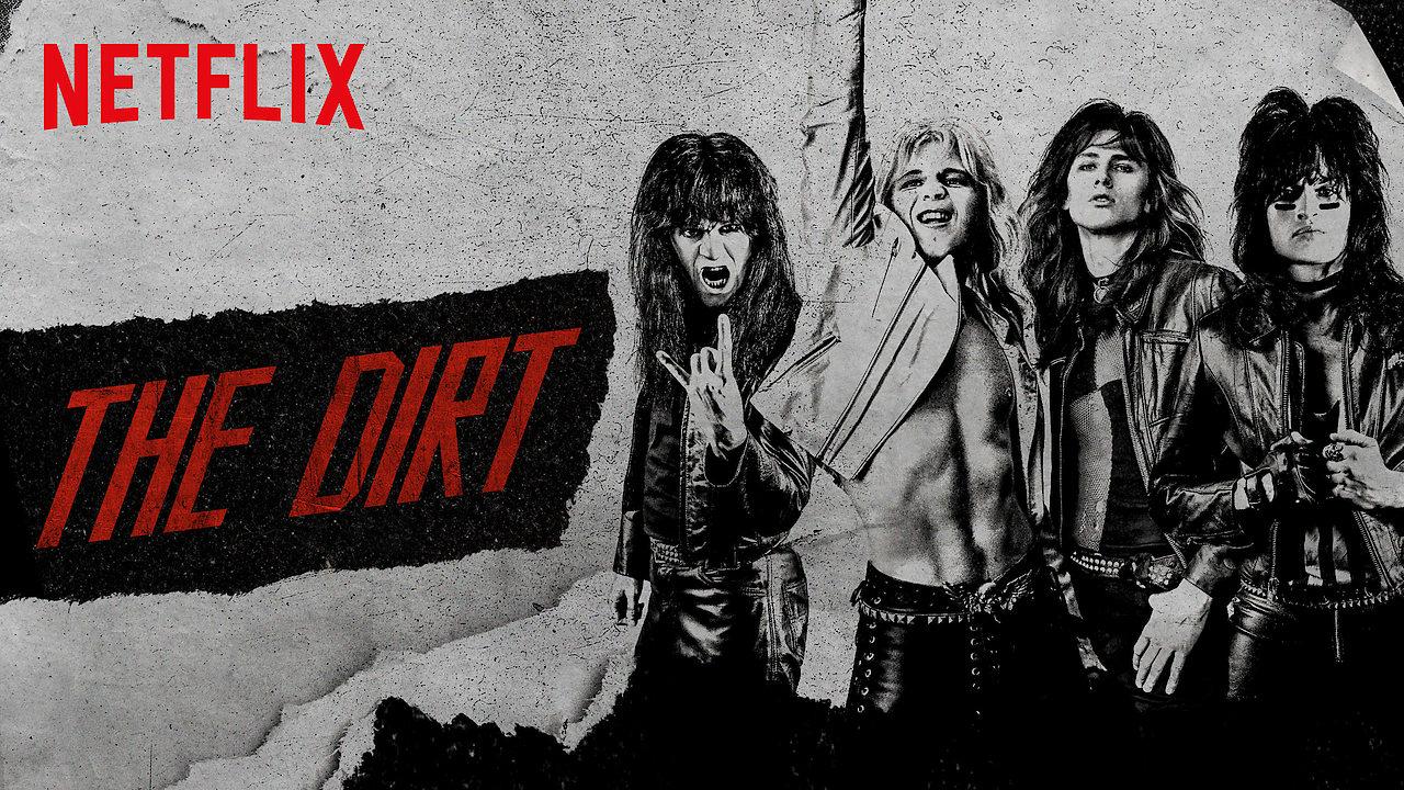 poster de The Dirt, cinebiografia