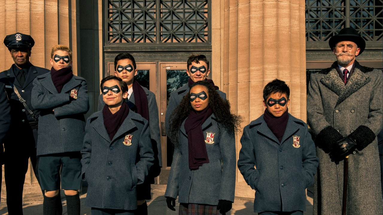 the umbrella academy - netflix