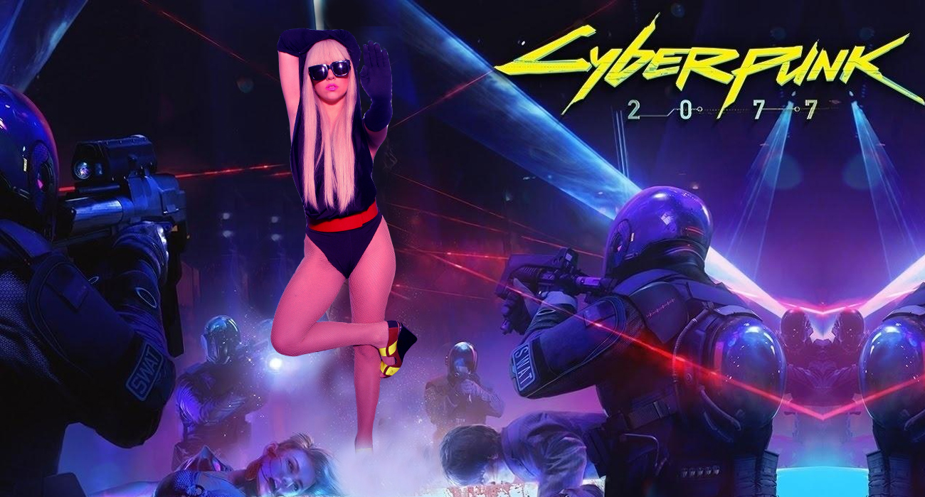 cyberpunk 2077 lady gaga