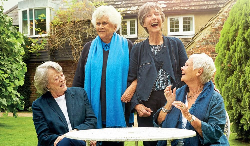 As protagonistas de Chá com as damas, documentário inglês