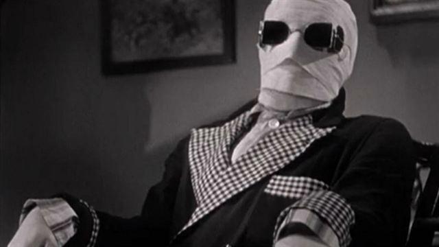 o homem invisível clássico