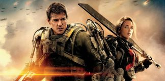cartaz de No Limite do Amanhã com tom cruise e emily blunt