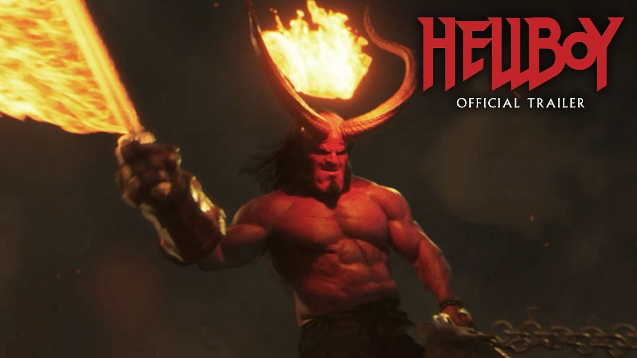 Hellboy em cartaz do longa