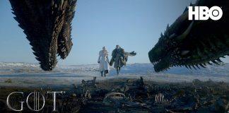 Dany e Jon na capa do trailer da 8ª temporada de Game of Thrones