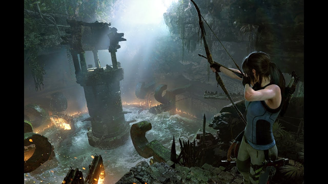 lara croft em novo dlc de Shadow of the Tomb Raider