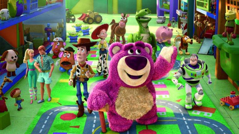 poster de toy story 3 animação da disney pixar