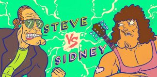 Steve vs. Sidney 3ª temporada irmão do jorel cartoon network