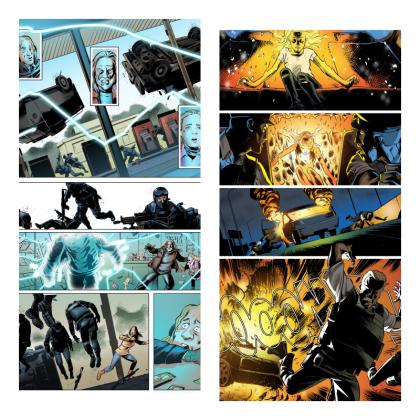 chaos graphic novel felipe folgosi (2)