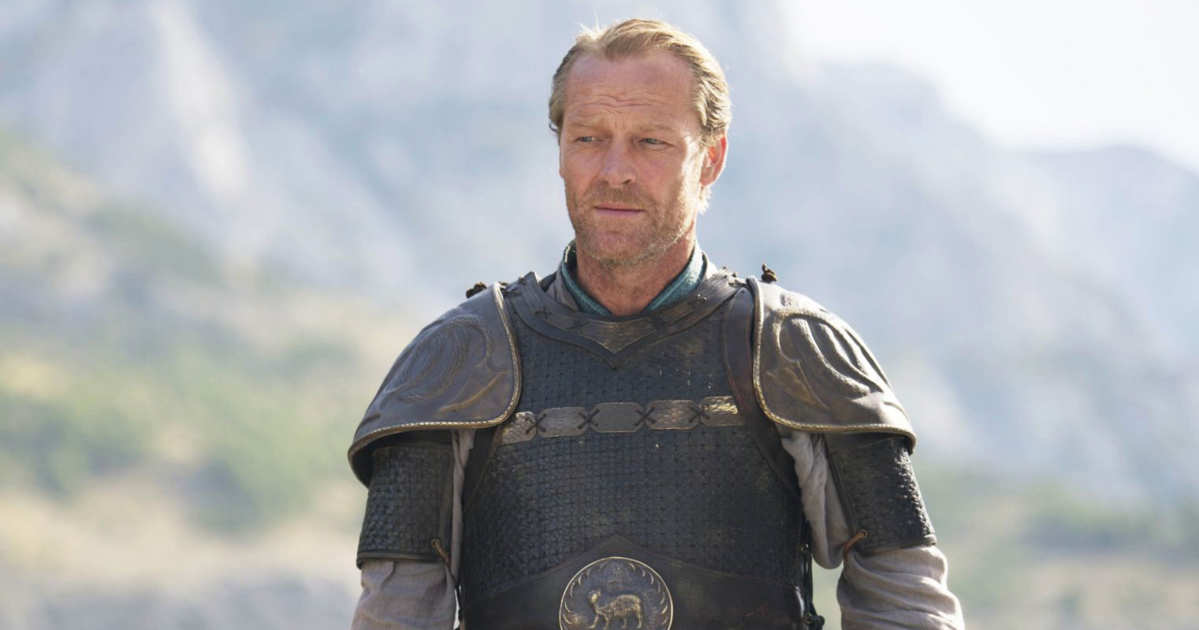 game of thrones jorah mormont Iain Glen hbo