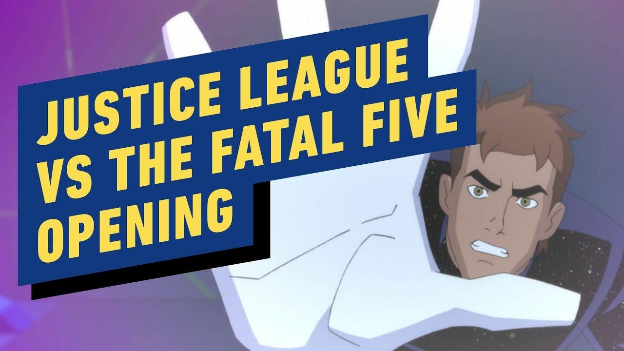 liga da justiça vs os cinco fatais