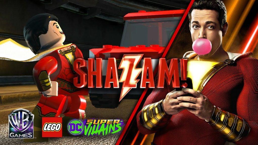 LEGO DC Super-Villains: SHAZAM!Pacote de Fase 1 do Filme wb games