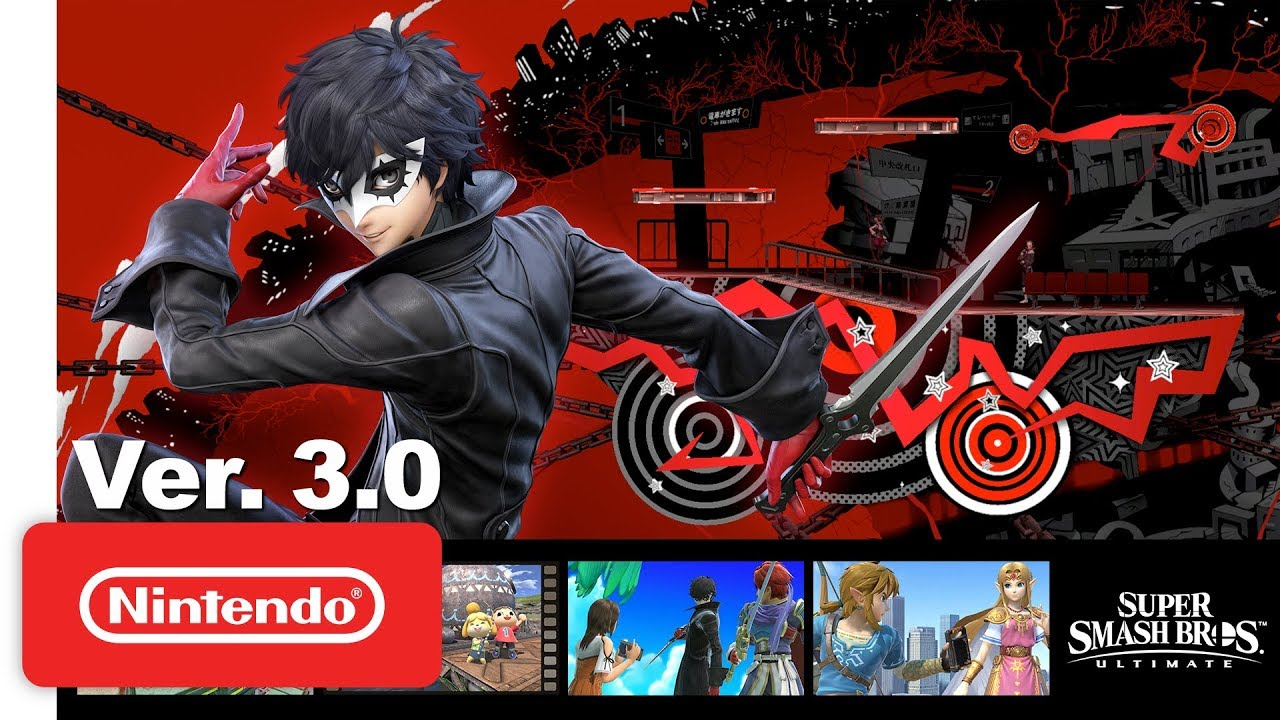 super smash bros joker persona 5