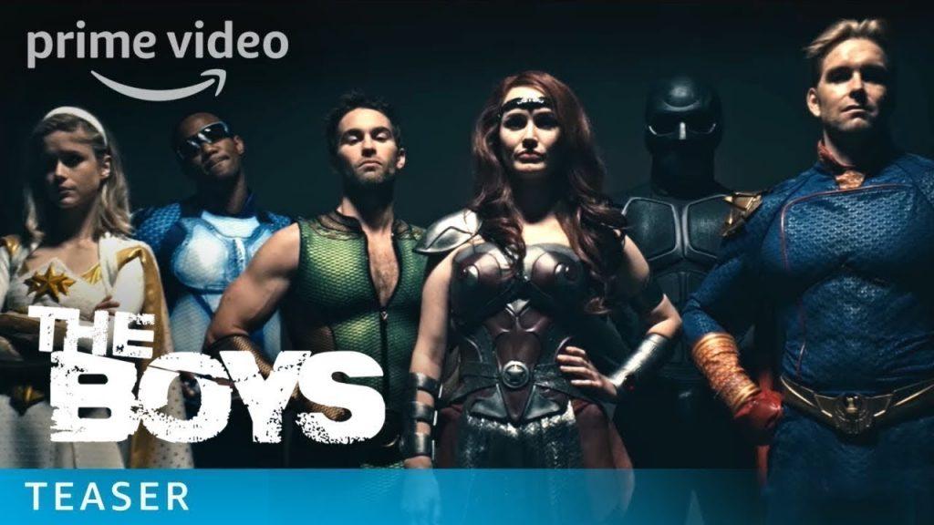 the boys amazon prime video trailer sem censura