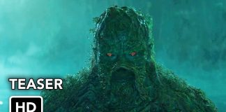 monstro do pântano dc universe série