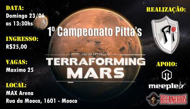 1º campeonato de Pittas terraforming mars
