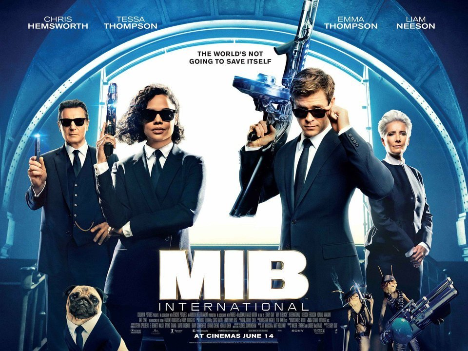 MIB: Homens de Preto Internacional
