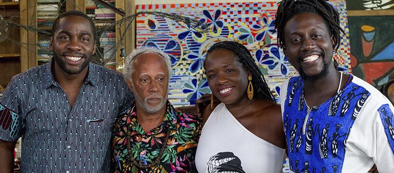 Tatiana Tibúrcio, Licínio Januário e Hilton Cobra canal brasil espelho lázaro ramos