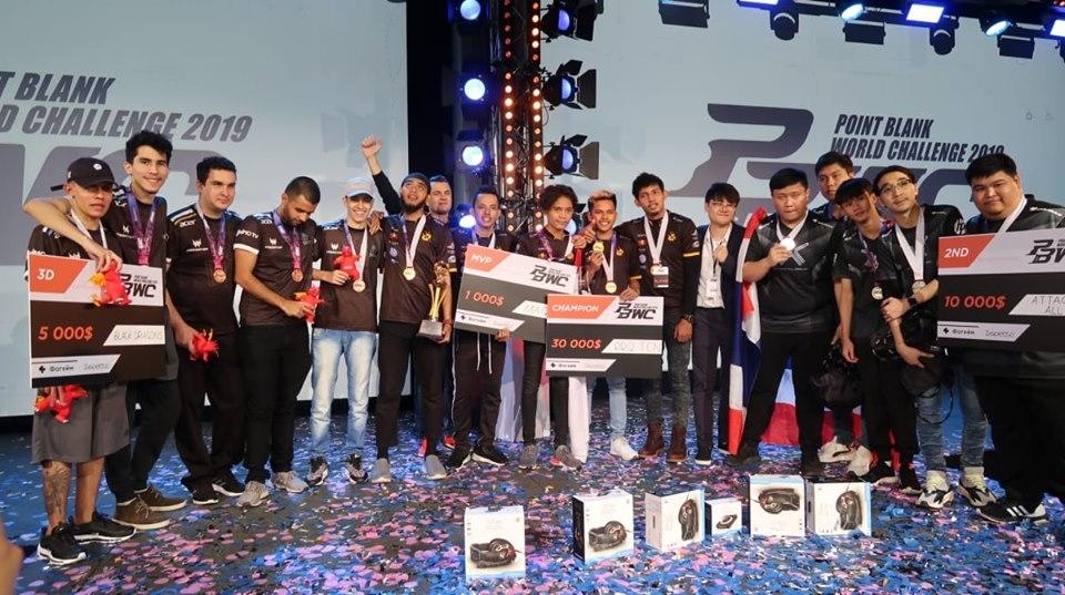 black dragons vence time da Rússia e garante 3º lugar mundial point blank