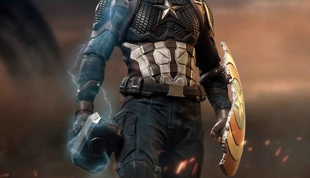 capitão américa digno vingadores ultimato iron studios