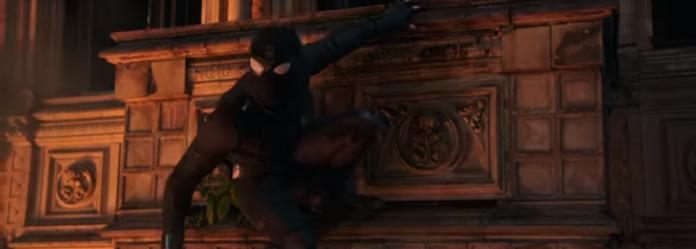 homem-aranha longe de casa traje furtivo