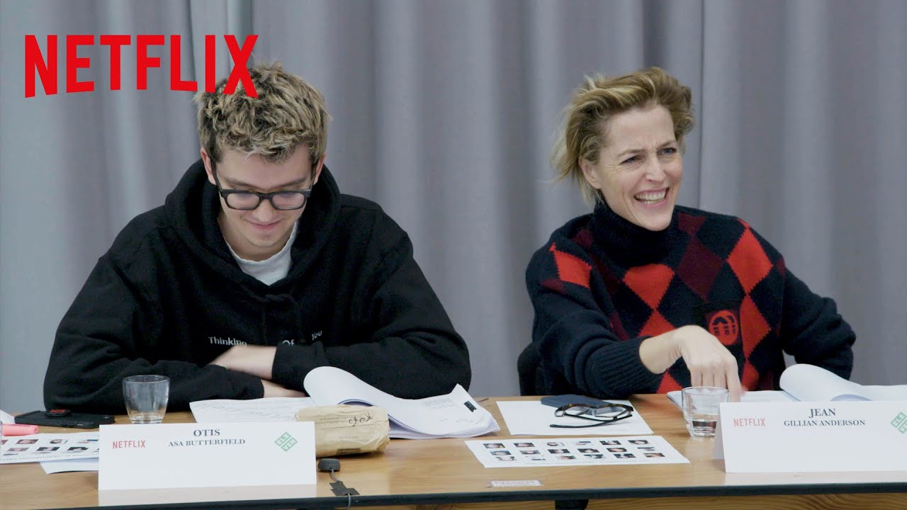 sex education asa butterfield gillian anderson netflix
