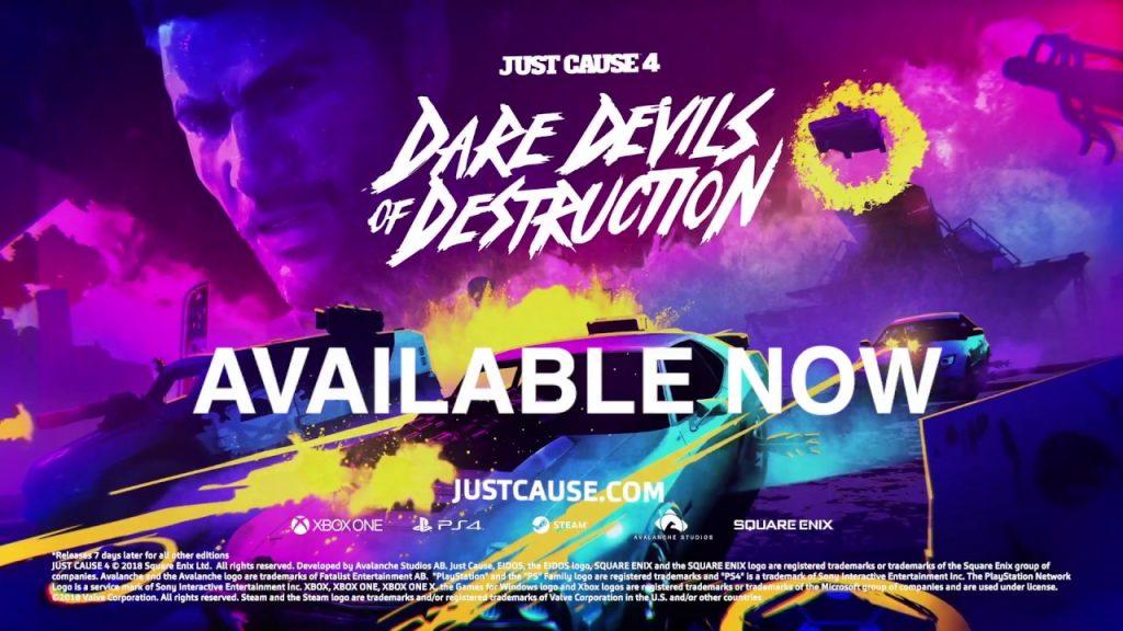 Just Cause 4: Dare Devils of Destruction   DLC