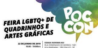 poc con evento quadrinhos LGBTQ+