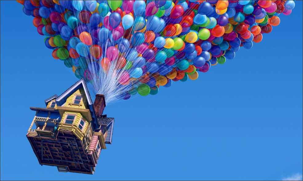 up altas aventuras animação disney pixar