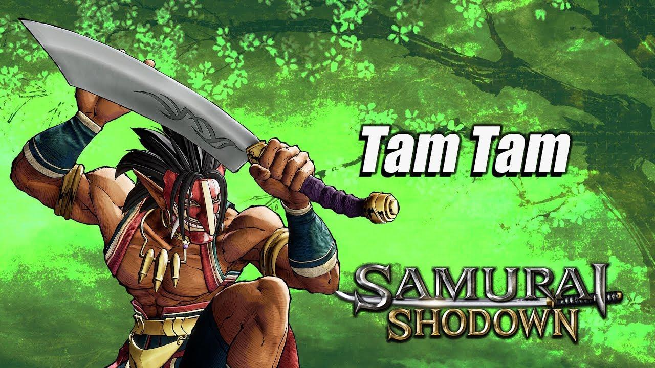 snk samurai shodown tam tam