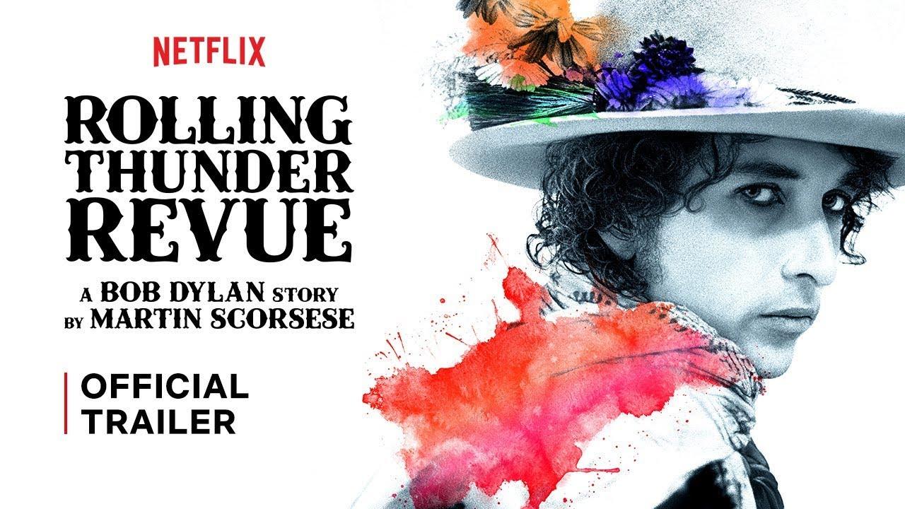 Documentário Rolling Thunder Revue bob dylan martin scorsese netflix