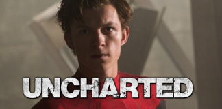 tom holland uncharted filme montagem