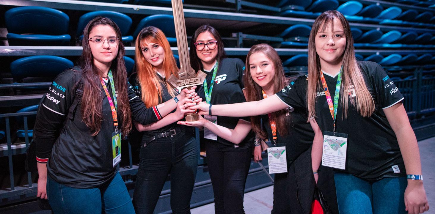 Time da paIN Gaming bicampeão de CS GO na GameXP 2019