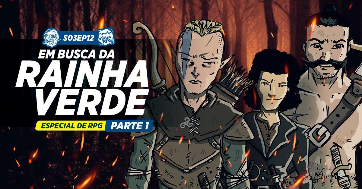 Capa do primeiro episódio do especial de RPG do CosmoNerd em parceira com a Vila do RPG