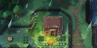 ilustração do jogo zelda