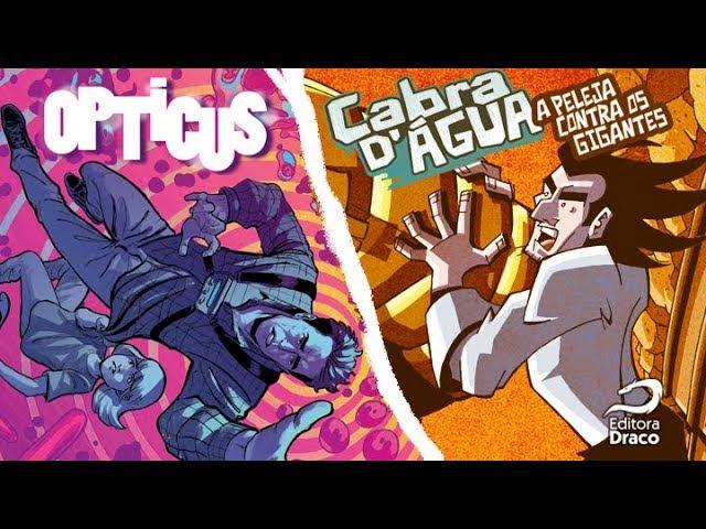 Cabra D'Agua e Opticus são as novas HQs de heróis da Editora Draco
