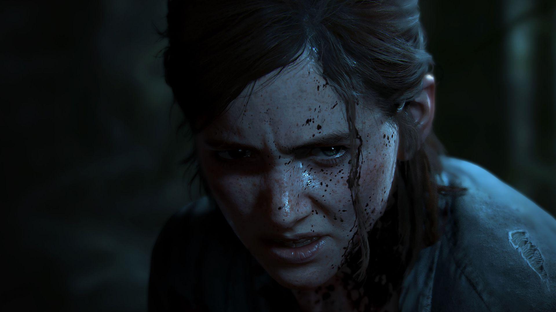 Ellie em ação