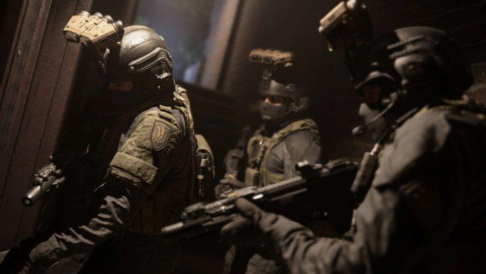 Call of Duty Modern Warfare.