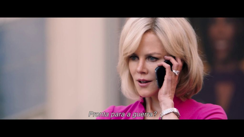 o escândalo Charlize Theron, Nicole Kidman e Margot Robbie